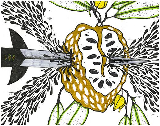Artwork by Priya Vunaki