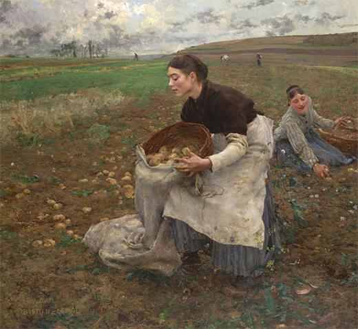 October (Saison d'octobre) 1878 Jules BASTIEN-LEPAGE